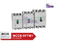 3 Phase  Moulded Case Circuit Breaker 200amp Mccb Circuit Breaker With Copper Contact